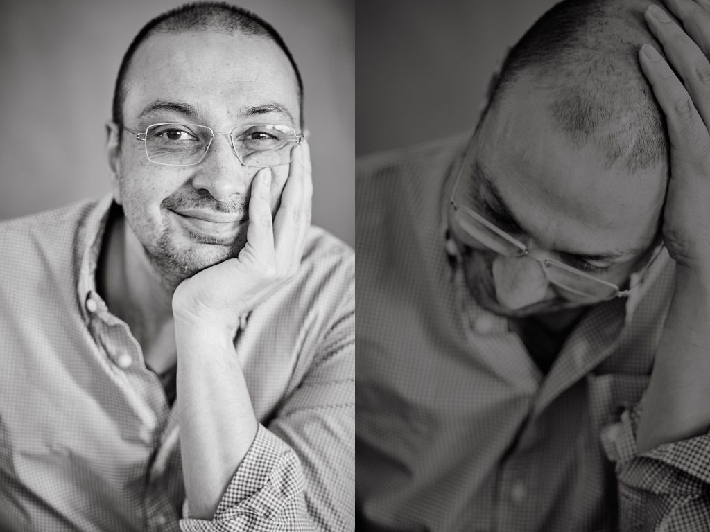 portrait Enrique Pardo